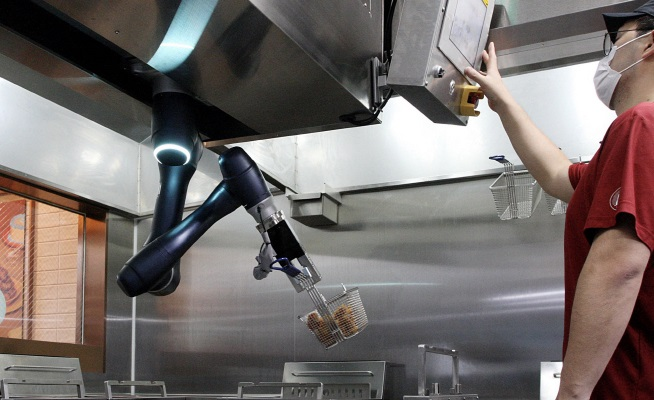 Kyochon Chicken Introduces Frying Robots