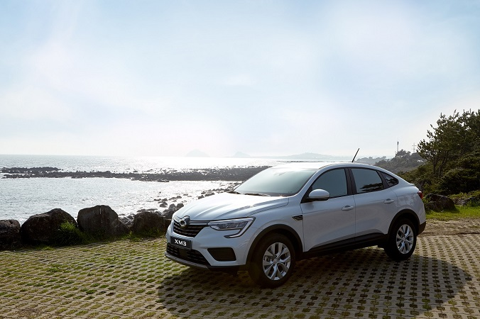 This photo provided by Renault Samsung shows the XM3 SUV.