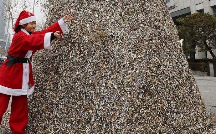 Gov't to Establish Cigarette Butt Collection and Recycling System