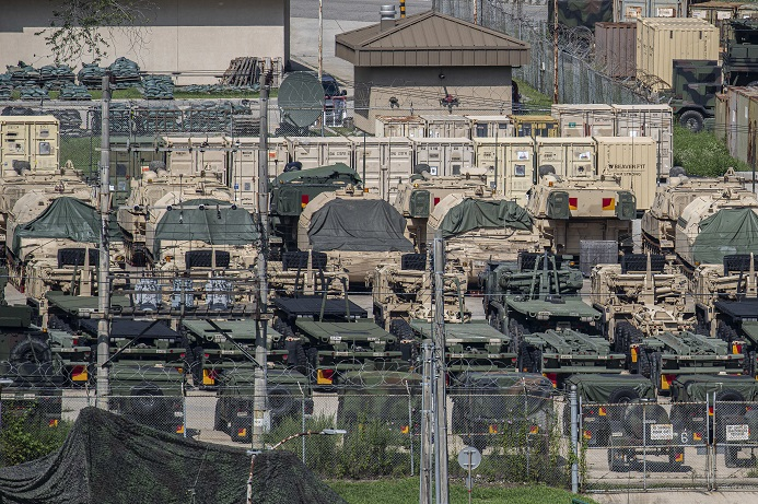 Half of S. Koreans Opposed to Delaying Allied Military Drills with U.S.