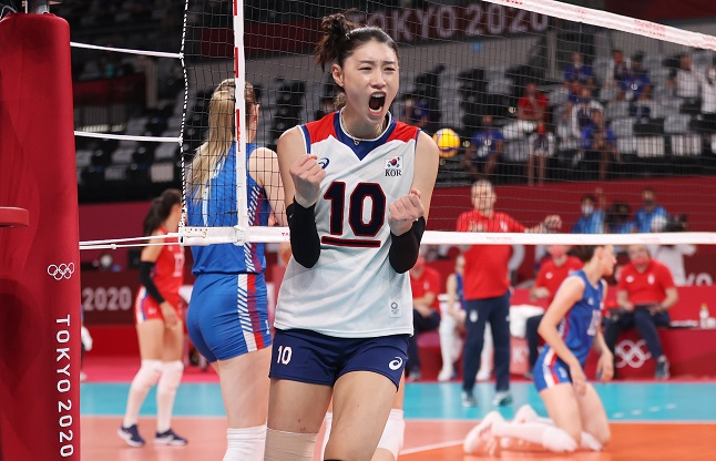 Volleyball Icon Kim Yeon-koung Most Impressive S. Korean Athlete at Tokyo Olympics: Poll
