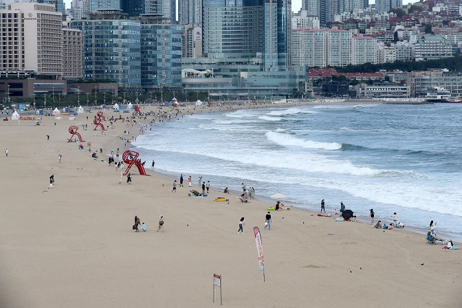 Busan Lowers Social Distancing Level as COVID-19 Cases Decline