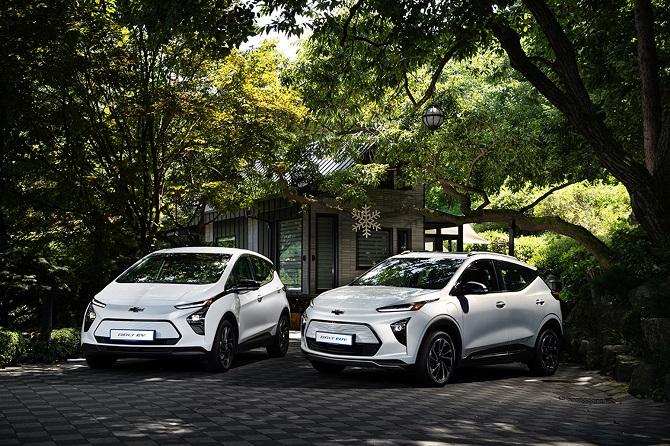 GM Korea Unveils 1st Electric Chevrolet SUV