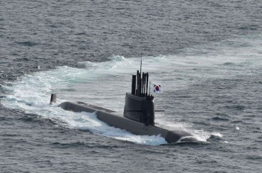 Navy Receives First 3,000-ton-class SLBM Submarine