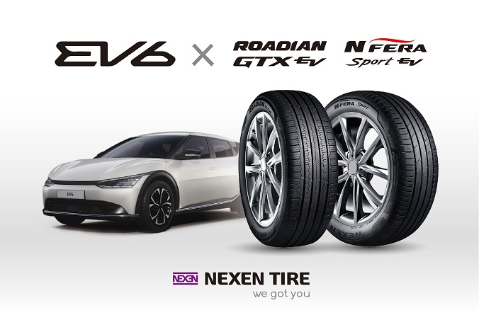 Nexen Tire to Supply OE Tires for the EV6, Kia's First Pure Electric Vehicle