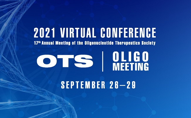 The Oligonucleotide Therapeutics Society Presents the 2021 Virtual Conference