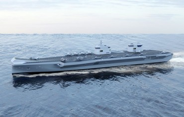 Hyundai, Daewoo Vying to Win Order for S. Korea's 1st Aircraft Carrier