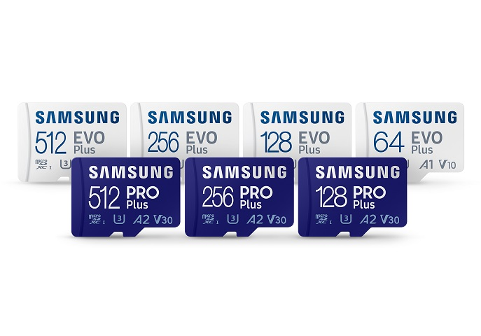 Samsung Launches New microSD Cards with Upgraded Performance, Durability