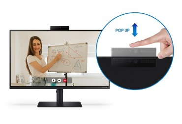Samsung Releases New Monitor Designed for Video Conferences