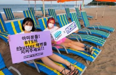 Environmentally Conscious K-pop Fans Move to Protect BTS 'Butter' Beach
