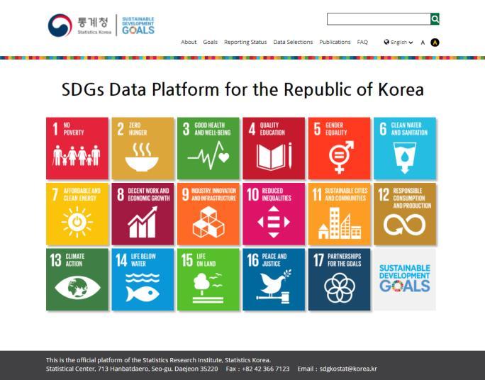 Statistics Agency Opens English Service of Data Platform on SDGs