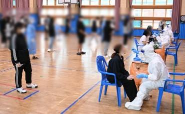 Half of Koreans Agree to Careful Inoculation of Teenagers