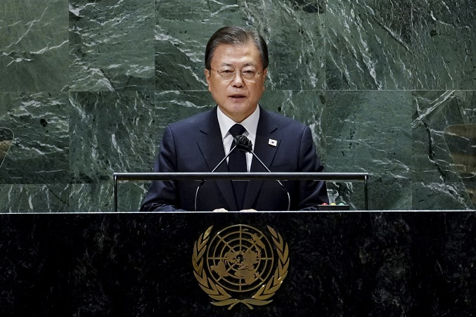 Moon Seeks Breakthrough in Peace Process with Concrete Offer of War-ending Declaration