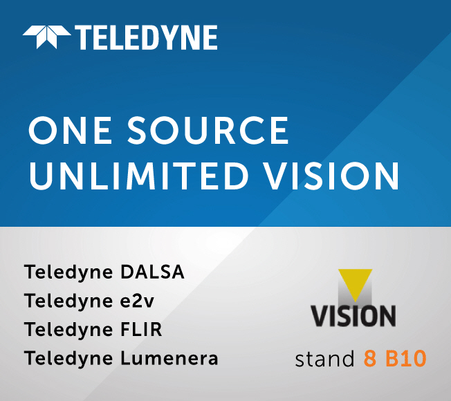 Teledyne to Showcase Comprehensive Portfolio of Industrial and Scientific Imaging Technology at Vision 2021