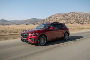 Genesis GV70 Named Motor Trend SUV of the Year