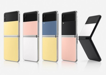 Samsung Reveals New Color Options for Galaxy Z Flip3, Collaborations with Maison Kitsune