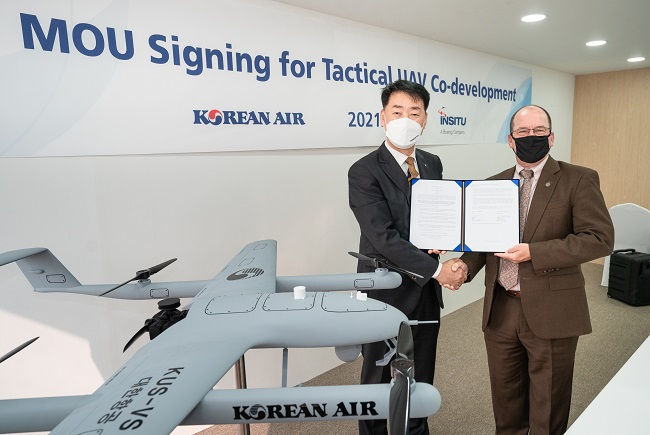 Korean Air Partners with Boeing for UAV Development