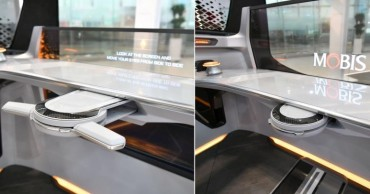 Hyundai Mobis Develops Foldable Steering Wheel for Future Vehicles