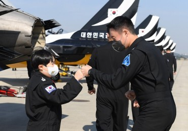 Child with Rare Type of Cancer Becomes Member of Black Eagles for a Day