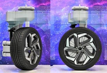 Hyundai Mobis Develops 90 Degree-rotatable Wheel
