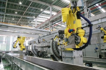 Samsung Engineering Automates Steel Frame Production Using Smart Robots