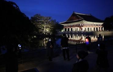 Nighttime Tour of Gyeongbok Palace to Begin This Week