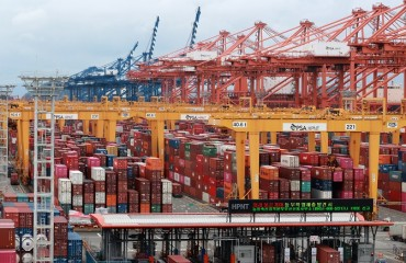 S. Korea's Seaport Cargo Up 8.1 pct in Q3 amid Global Rebound