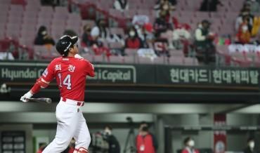 Landers' Slugger Choi Jeong Becomes 2nd KBO Player with 400 Home Runs