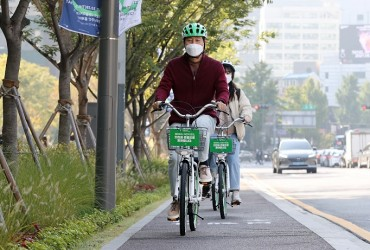 Seoul City to Introduce 6,000 Additional Public Bicycles by Next Year