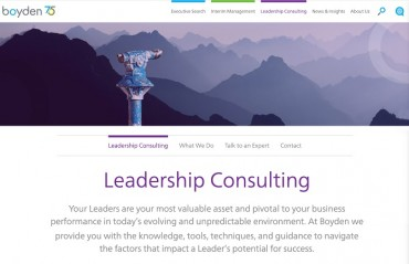 Boyden Expands Leadership Consulting to Serve Clients Facing Complex Business Challenges