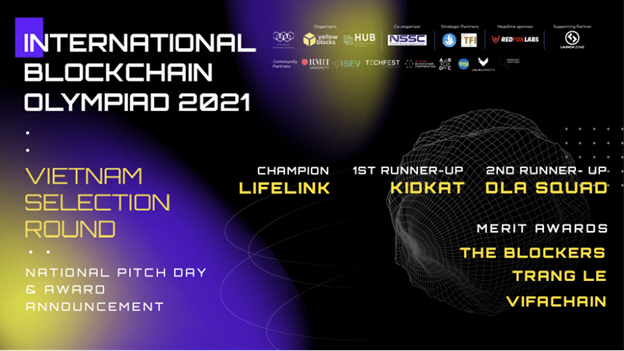 YellowBlocks Officially Announced the TOP 6 Vietnamese Representatives to Join the International Blockchain Olympiad (IBCOL 2021)